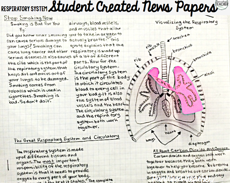 Project resource page 7th grade life science respiratory system newspaper livescience good resource ccuart Choice Image